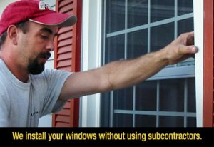 We install your windows.