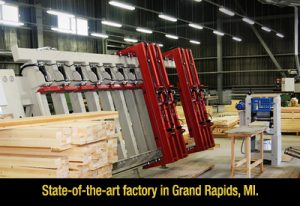 State-of-the-art factory in Grand Rapids.