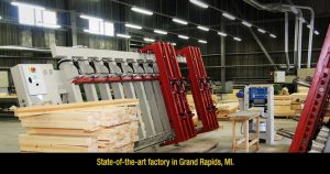 State of the art factory in Grand Rapids, Michigan