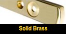 Solid brass