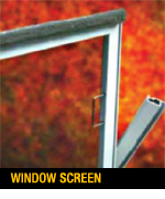 Polar Seal window screen.