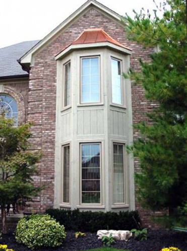 POLAR SEAL casement window for residential, house and home. Grand Rapids, Michigan.