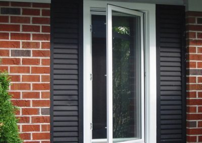 New replacement casement windows for residential, house and home. Grand Rapids, Michigan.