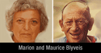 Marion and Maurice Blyveis