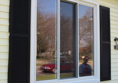 Sliding window for residential, house and home. Grand Rapids, Michigan.