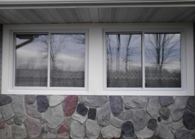 New replacement sliding windows for residential, house and home. Grand Rapids, Michigan.