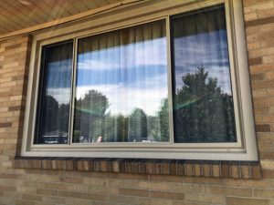 POLAR SEAL sliding window, Grand Rapids, MI.